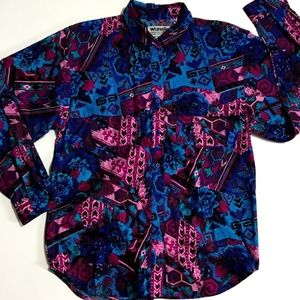 Wrangler Authentic Shirt Womens Multicolor Size XL